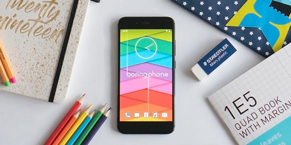 BoringPhone un Xiaomi Mi A1 sin distracciones