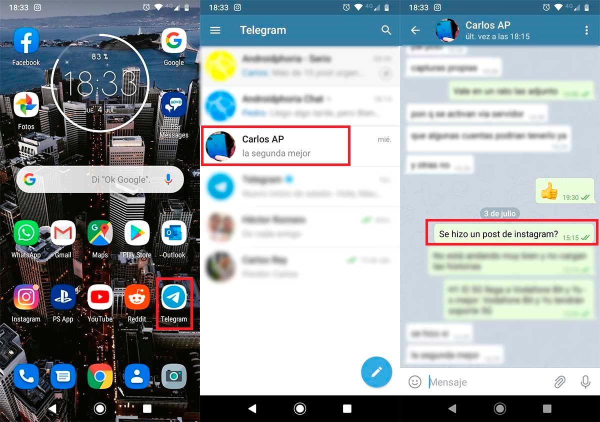 Borrar mensajes para todos Telegram