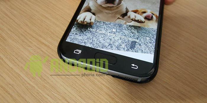 Botones capacitivos Galaxy S7