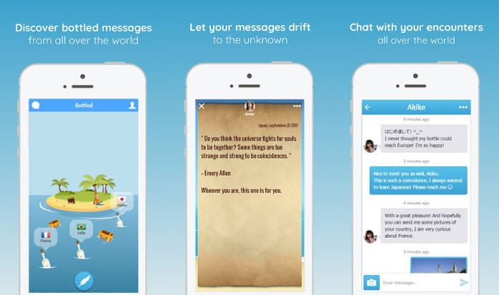 Bottled Message in a Bottle para Android