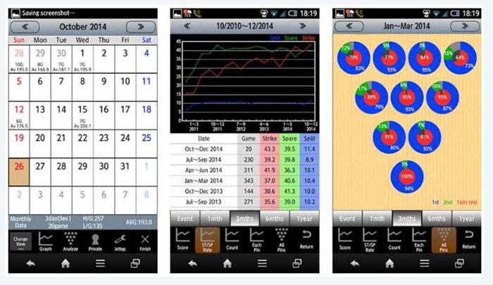 Bowling Scorer app