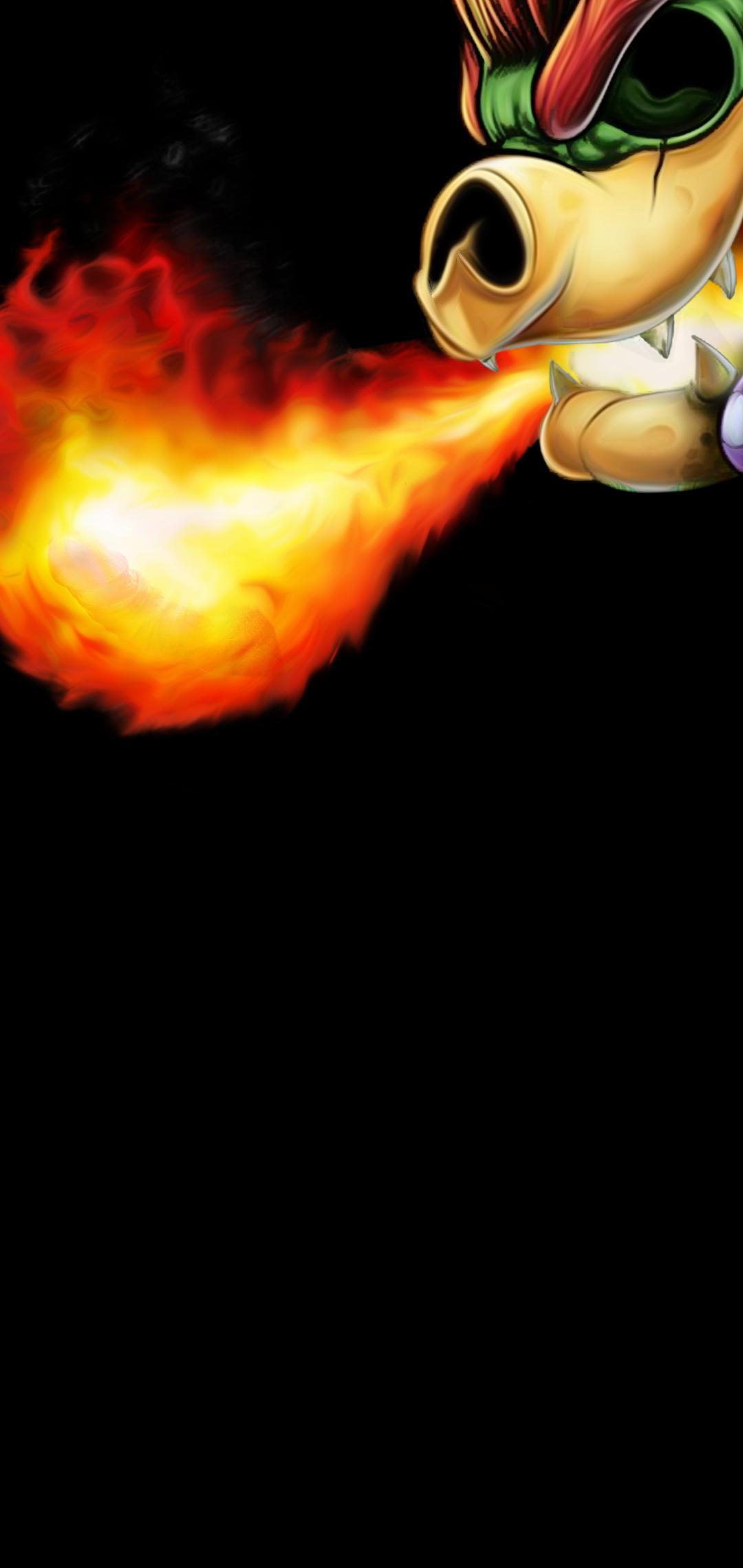 Bowser Mario Bros fondo de pantalla Galaxy S10+
