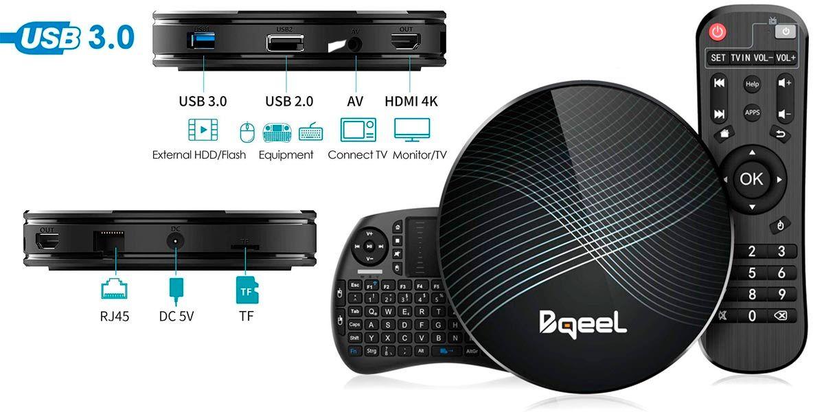 Bqeel U1 max con teclado