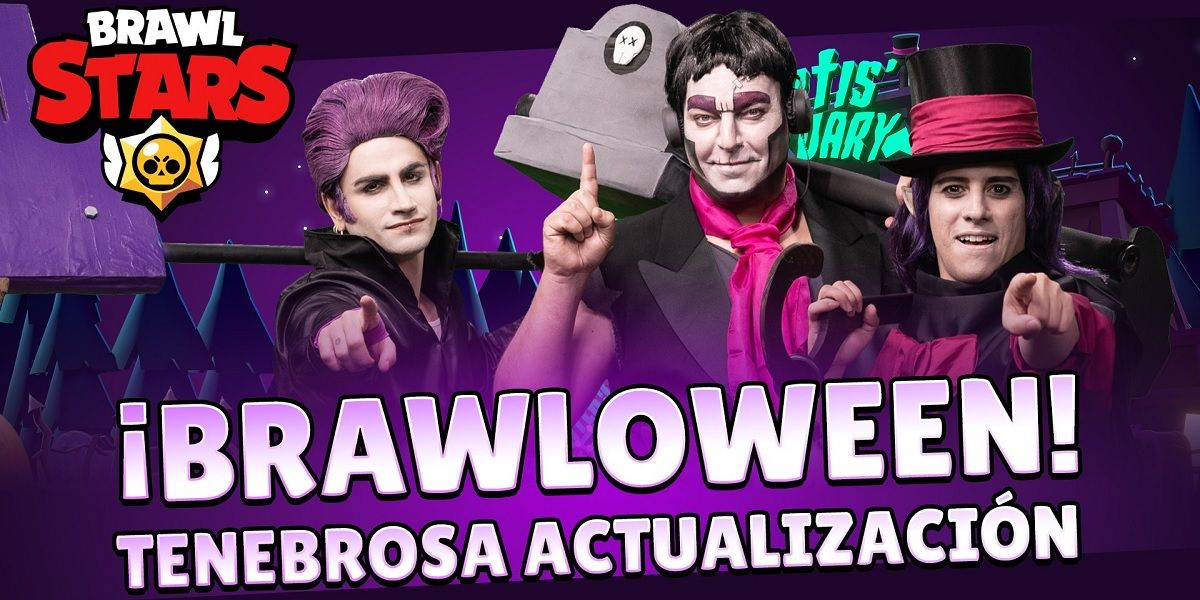 Brawl-o-ween, evento especial y nuevo brawler en Brawl Stars