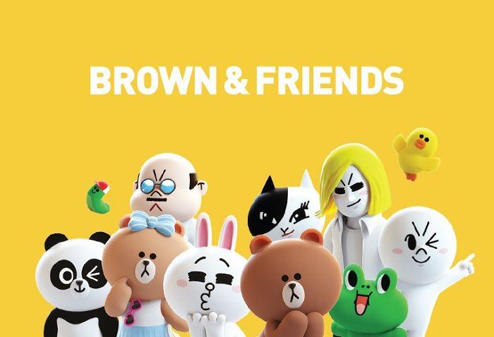 Brown y sus amigos
