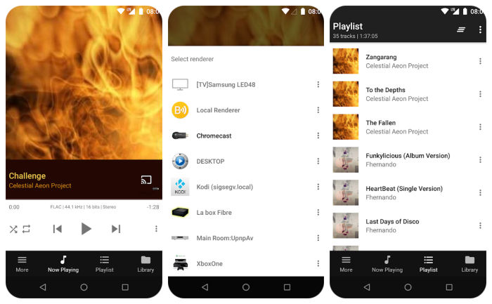 BubbleUpnP Android App DLNA