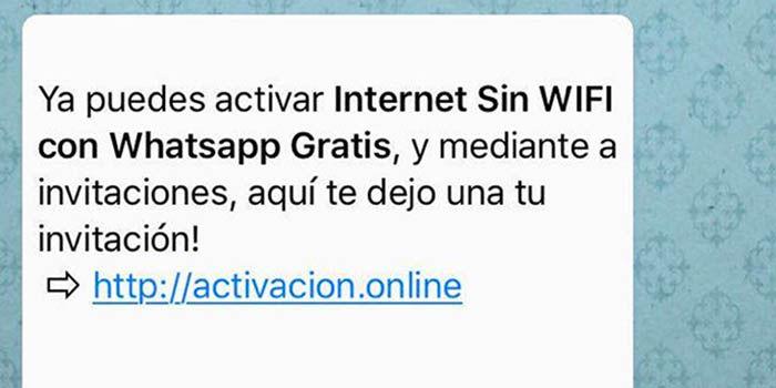 Bulo WhatsApp Activar internet gratis sin Wifi