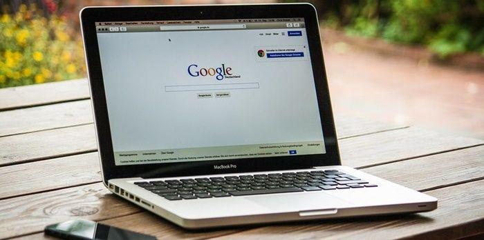 Buscador google en macbook pro
