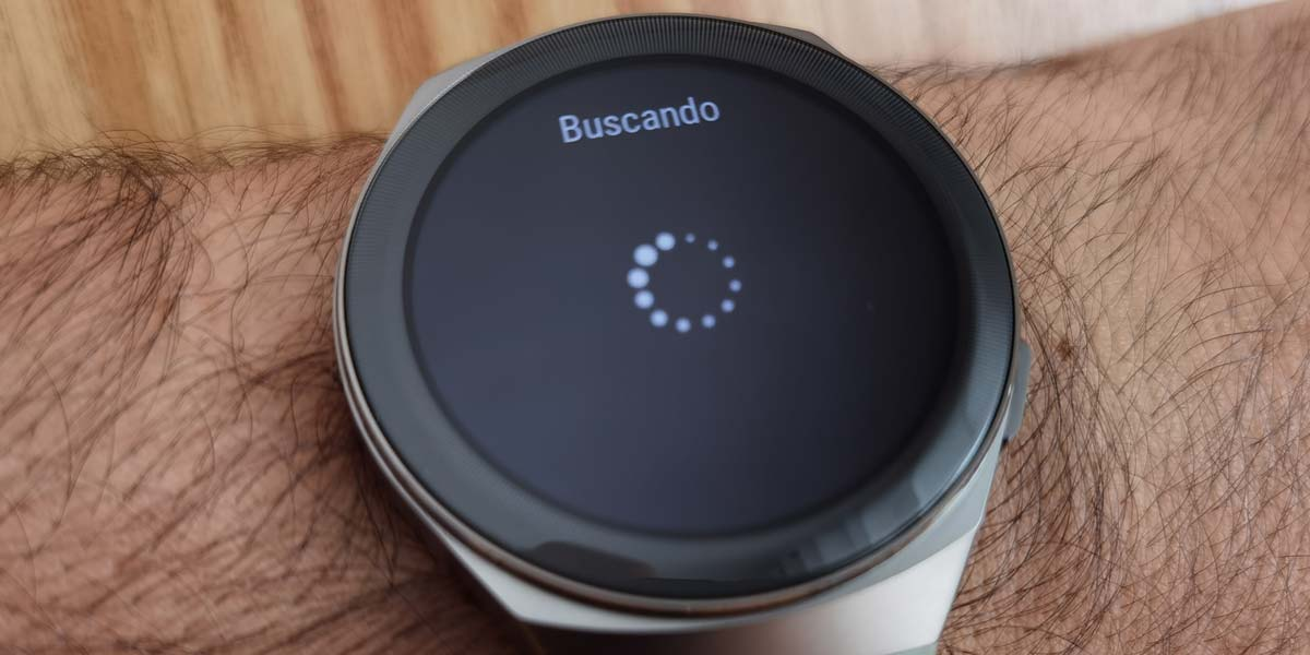 Buscar auriculares con un smartwatch Huawei