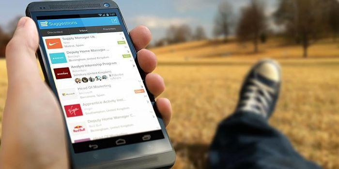 Buscar trabajo en Android
