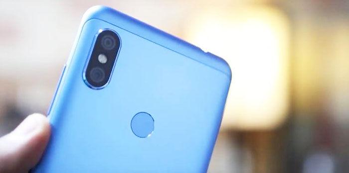 Cámara Xiaomi Redmi Note 6 Pro