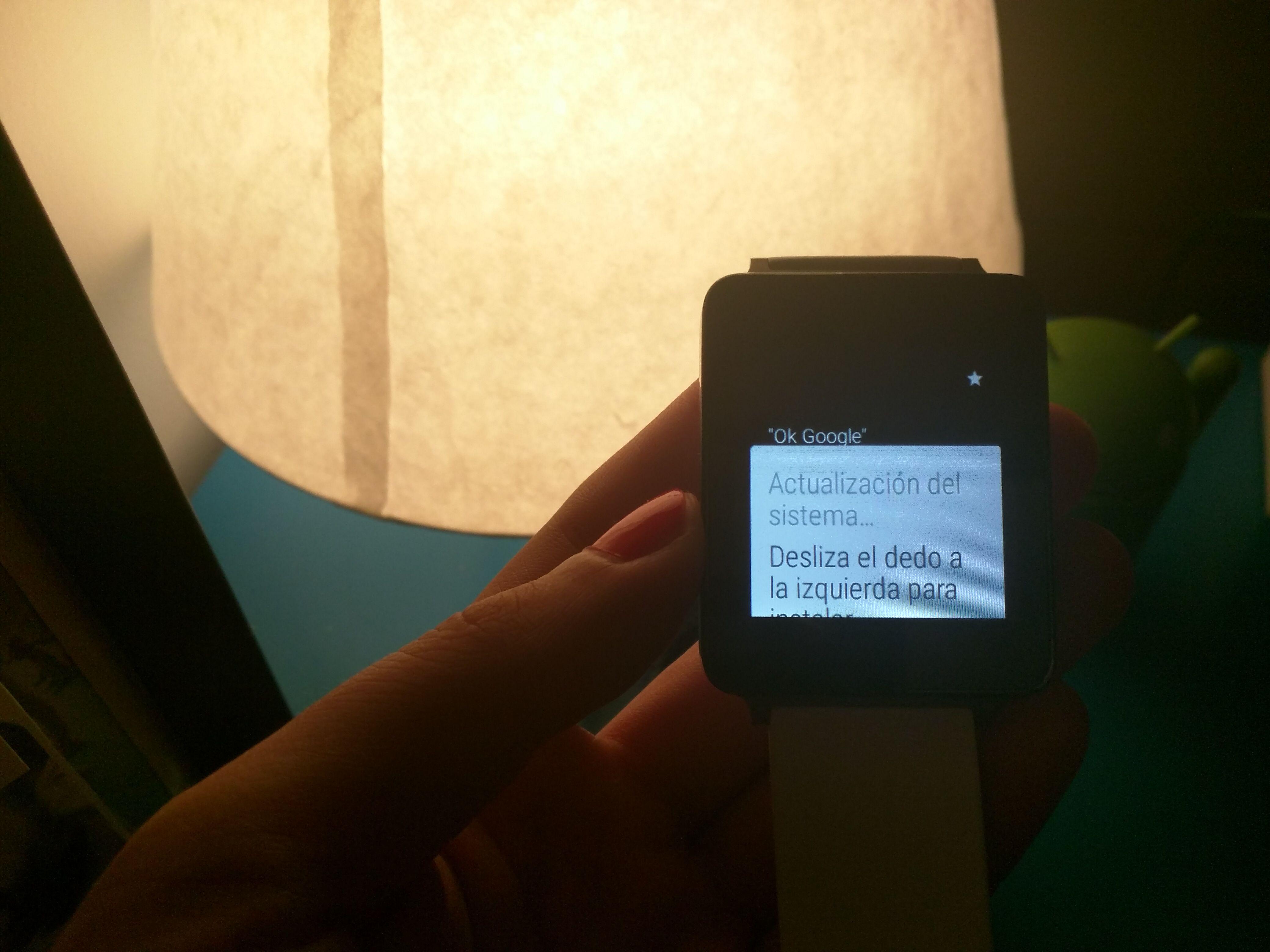 Cómo actualizar el LG G Watch a Android Wear 1.3