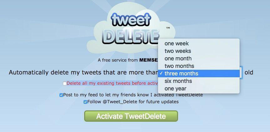 Cómo borrar todos los tweets en Twitter