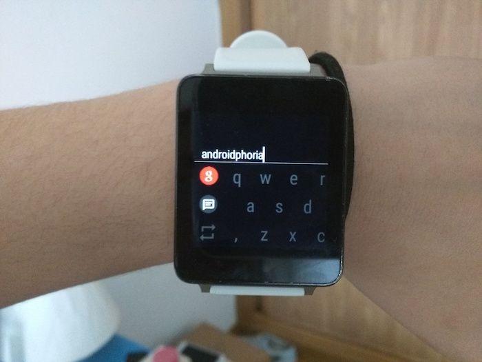 Cómo contestar emails en Android Wear con teclado