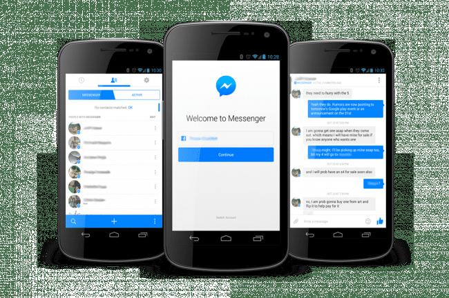 Cómo desactivar Facebook Messenger en Android