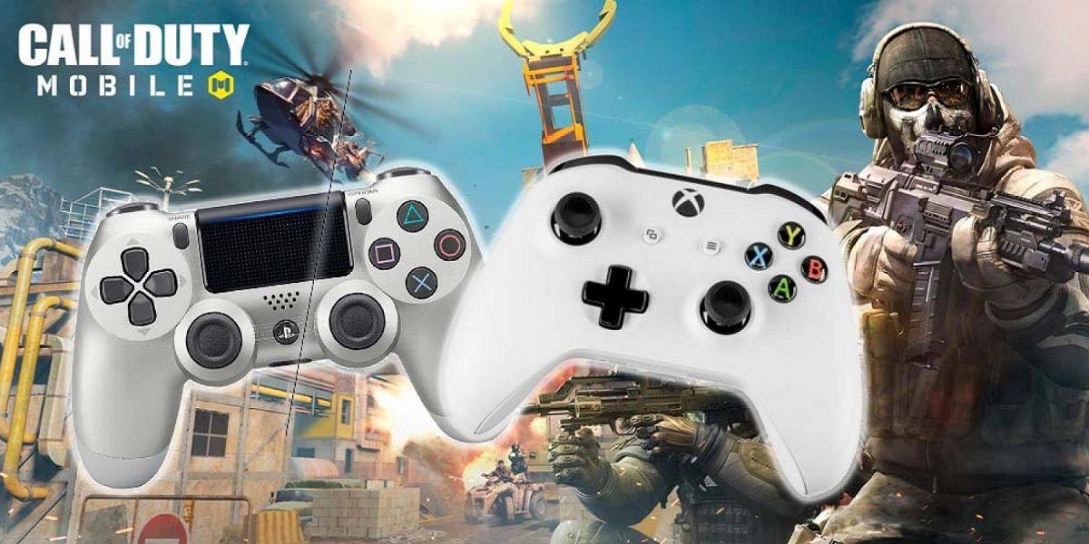 Como jugar con el mando de PS4 o Xbox en COD Mobile