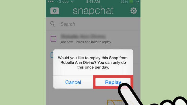 Cómo recuperar los mensajes en Snapchat