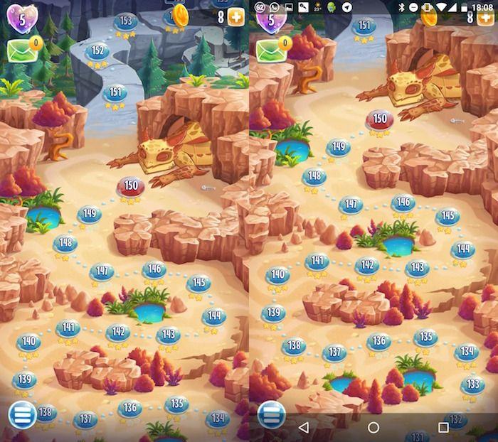 Cómo salir de un juego de pantalla completa en Android
