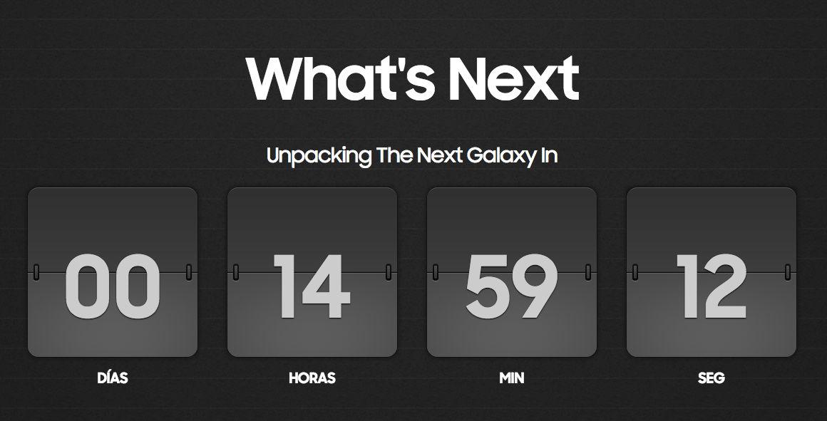 Cómo seguir el Samsung Galaxy Unpacked 2015