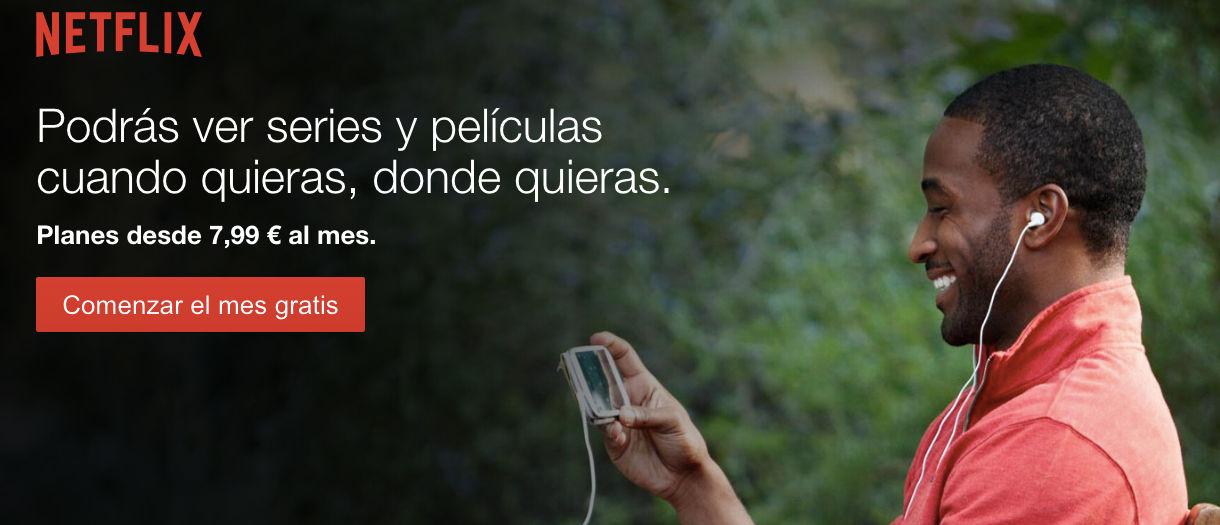 Cómo tener un mes gratis de Netflix en España