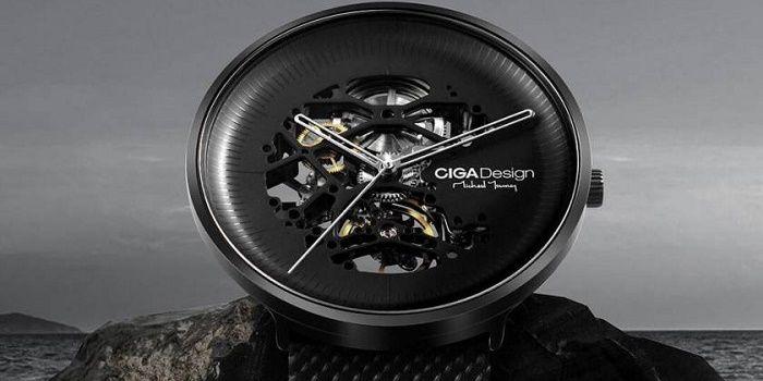 CIGA Design reloj esqueleto a
