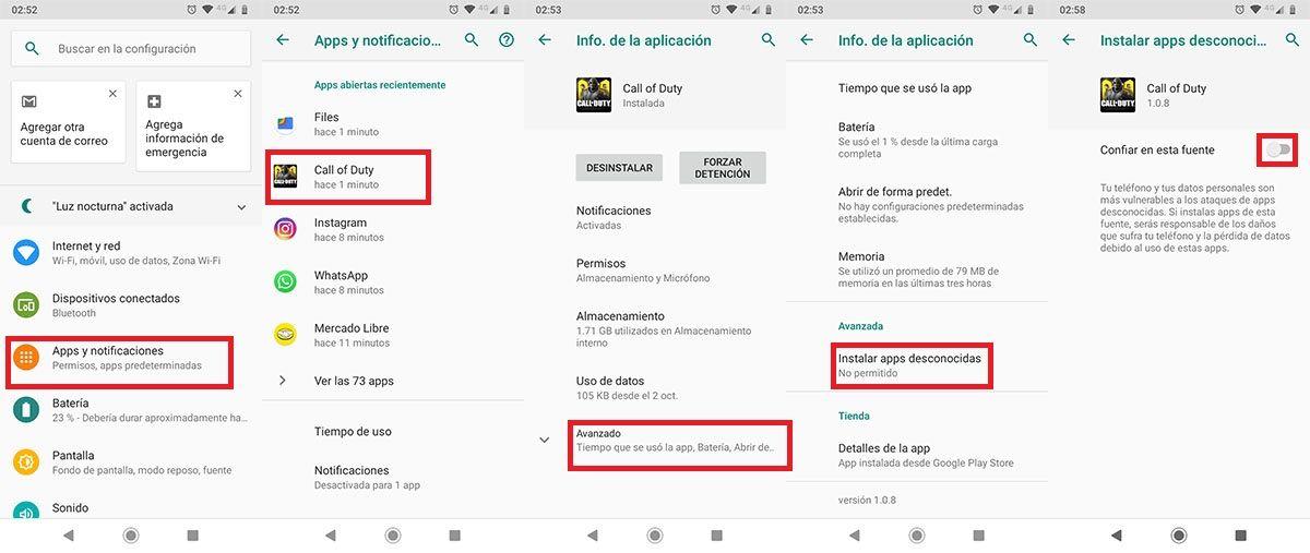 COD Mobile no se escucha Android solucion