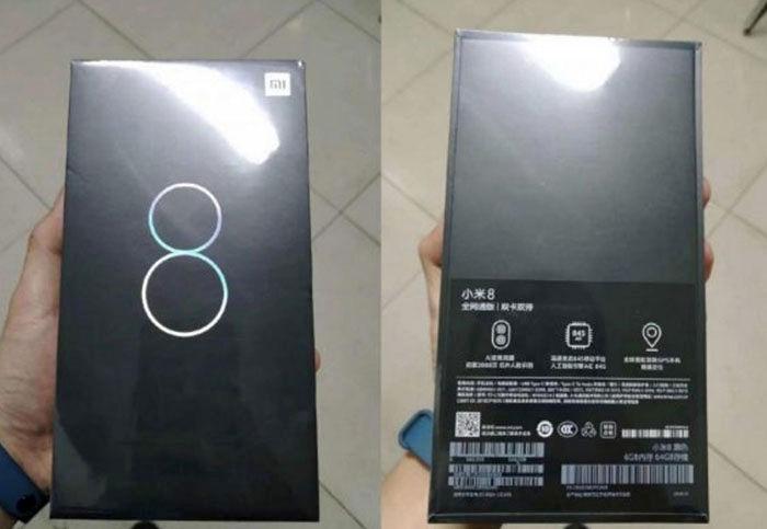 Caja Xiaomi Mi 8