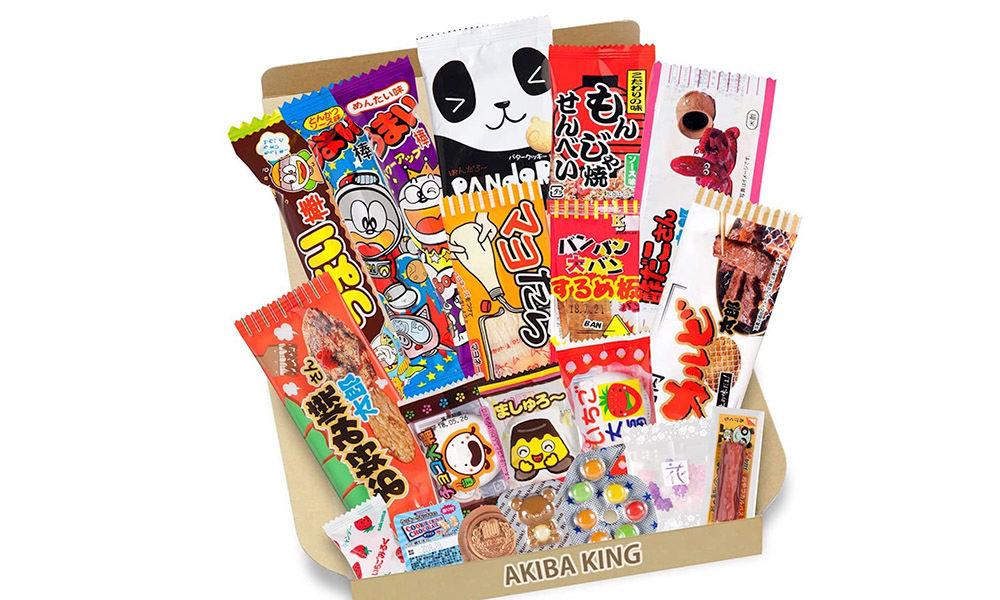 Caja de 20 dulces japoneses