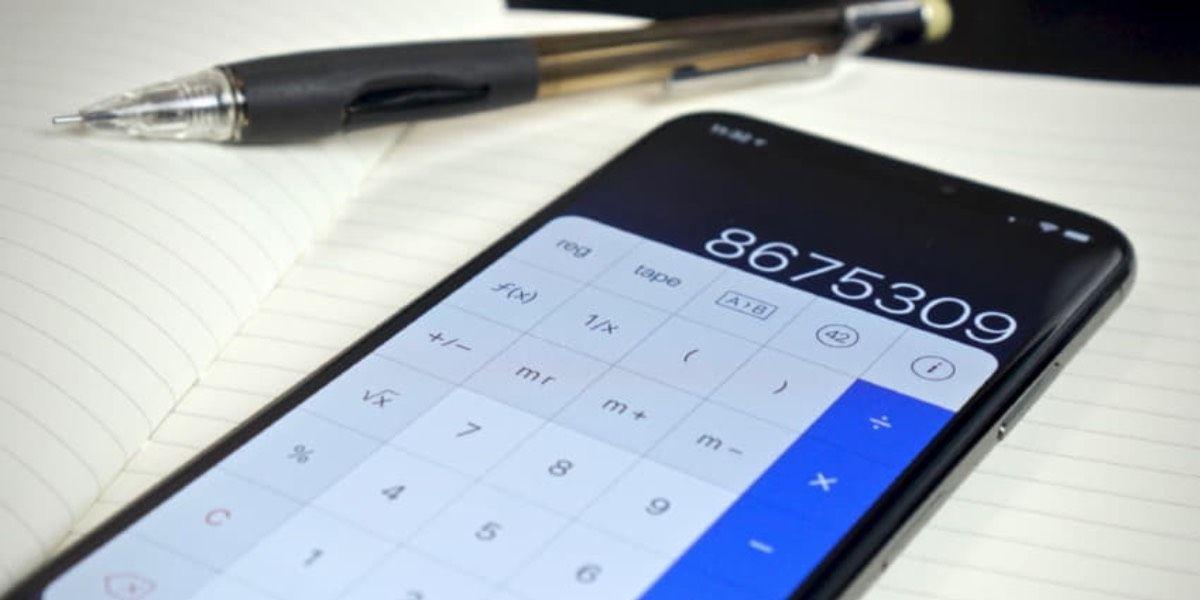 Calculadora de Google online