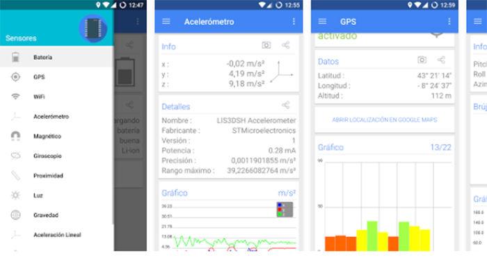 Calibrar sensores en Android