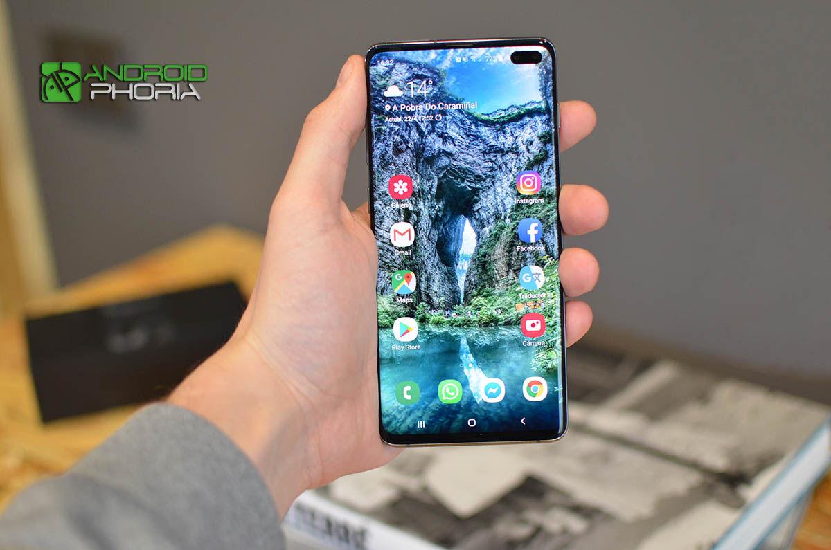 Calidad pantalla Galaxy S10 Plus