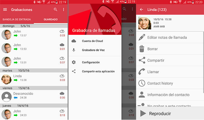 Call Recorder Android gratis