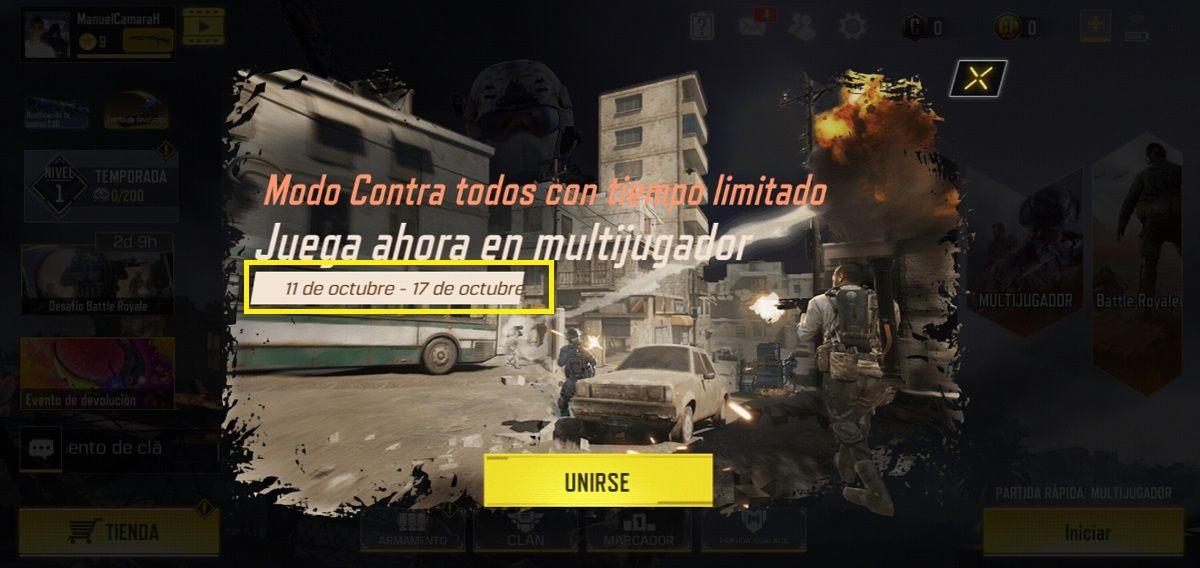 Call of Duty Mobile Modo Zombie Fecha