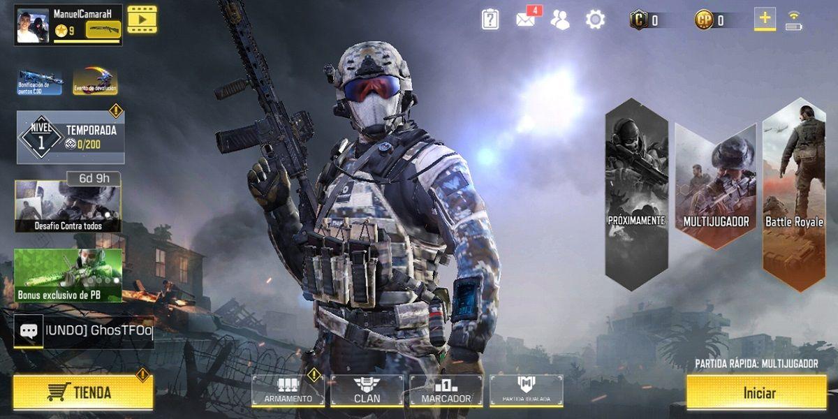 Call of Duty Mobile Modo Zombie disponibilidad y detalles