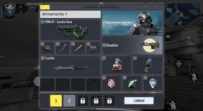 Call of Duty Mobile arma de asalto