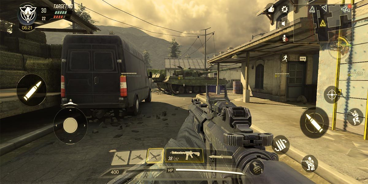 Call of Duty Mobile escenario