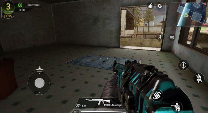 Call of Duty Mobile juego de armas cambio