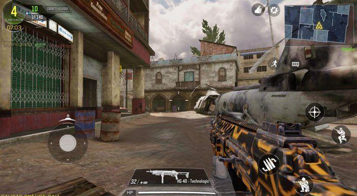 Call of Duty Mobile juego de armas escopeta