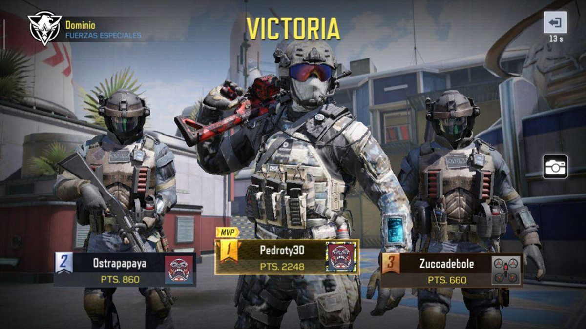 Call of Duty Mobile mvp