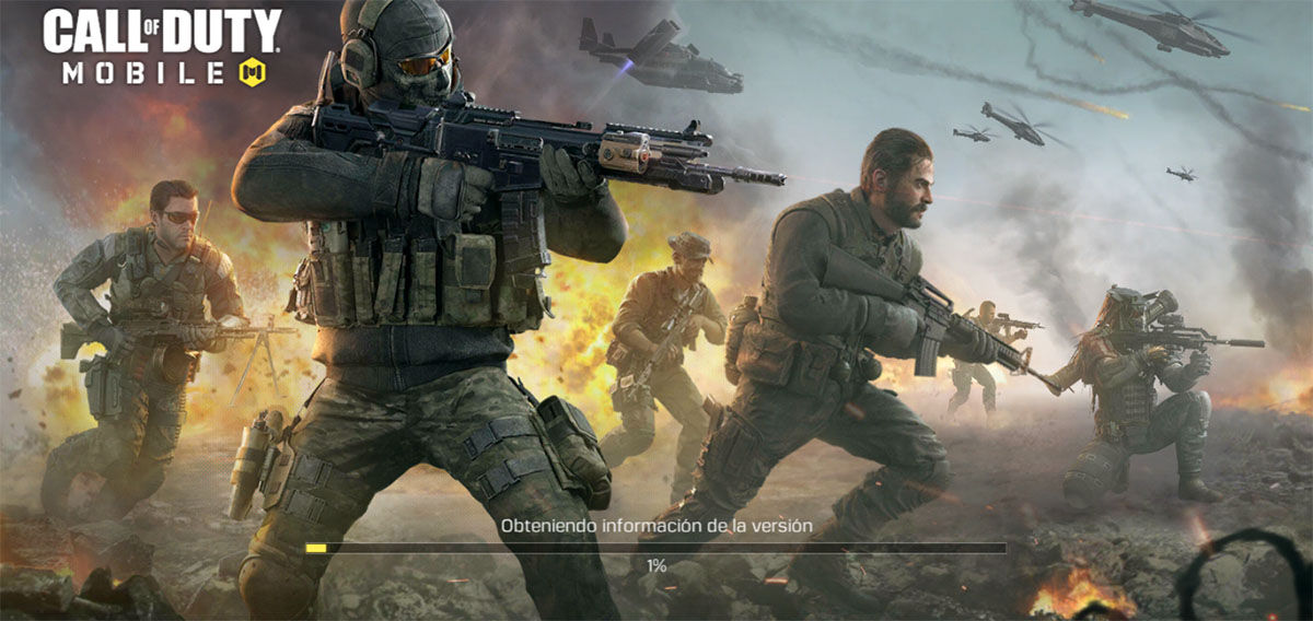 Call of Duty Mobile no carga