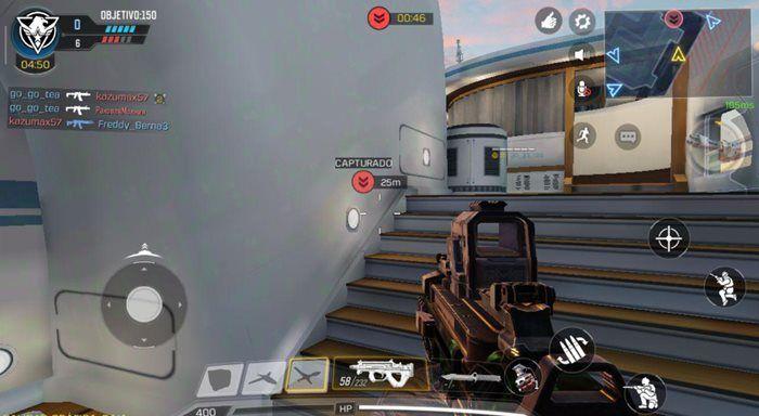 Call of Duty Mobile punto caliente enemigos