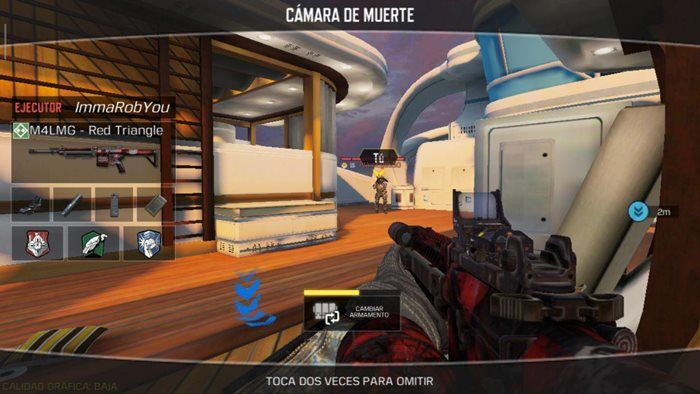 Call of Duty Mobile punto caliente muerte