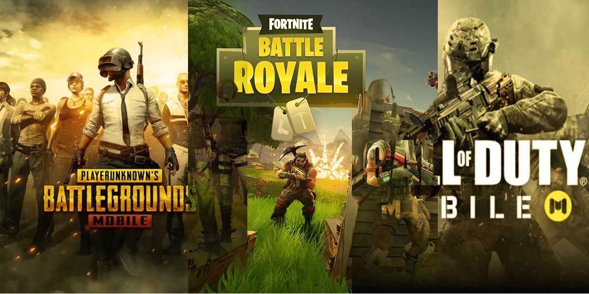 Call of Duty Mobile vs Fortnite Mobile vs PUBG Mobile