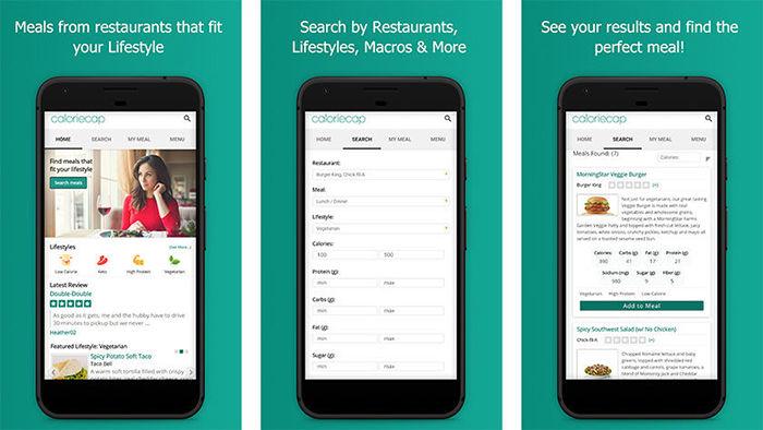 CalorieCap para Android