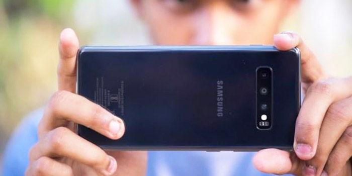 Camara Galaxy S10