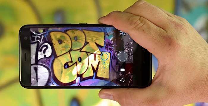 Camara HTC U11 Life