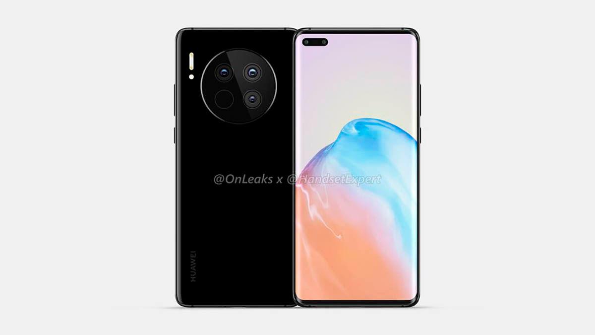 Camara Huawei Mate 40 y 40 Pro