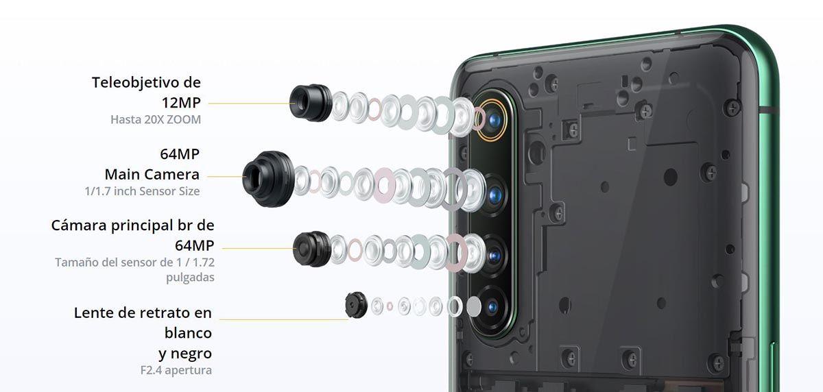 Camara Realme X50 Pro 5G
