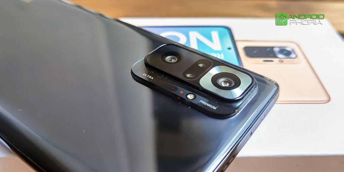 Camara Redmi Note 10 Pro