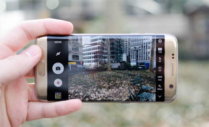 Camara del Galaxy S7